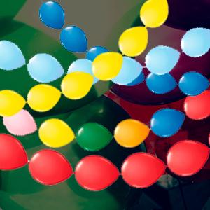 Doorknoop ballonnen